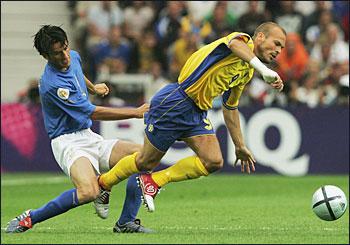 Italy vs Sweden